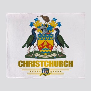 """""""Christchurch COA"""" Throw Blanket"""