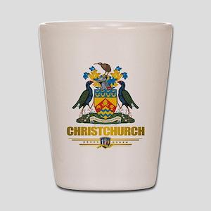 """Christchurch COA"" Shot Glass"