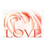 Love Rose Postcards (Package of 8)