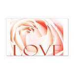 Love Rose 22x14 Wall Peel