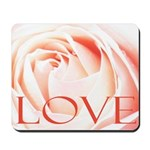 Love Rose Mousepad