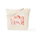 Love Rose Tote Bag