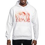 Love Rose Hooded Sweatshirt