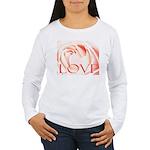 Love Rose Women's Long Sleeve T-Shirt