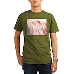 Love Rose Organic Men's T-Shirt (dark)