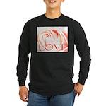 Love Rose Long Sleeve Dark T-Shirt