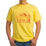 Love Rose Yellow T-Shirt