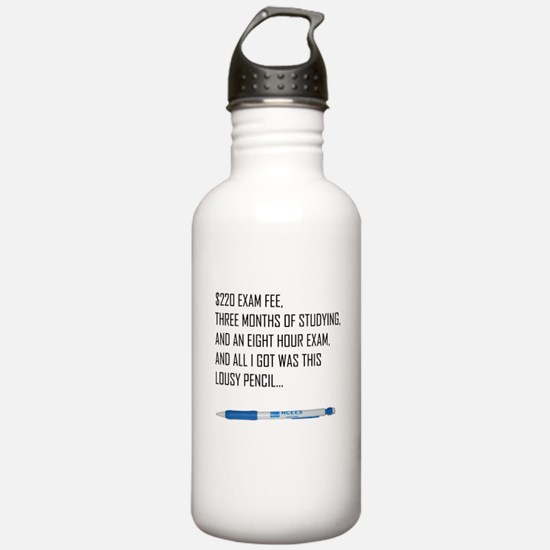 Cool Funny chemical engineer Water Bottle