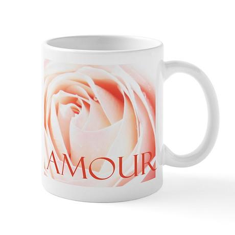 French Love Rose Amour Mug