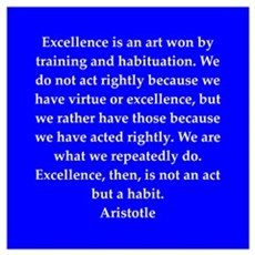 Wisdom of Aristotle Wall Art Poster