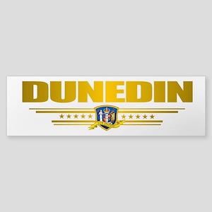 """""""Dunedin NZ"""" Sticker (Bumper)"""