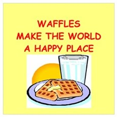 waffles Wall Art Canvas Art