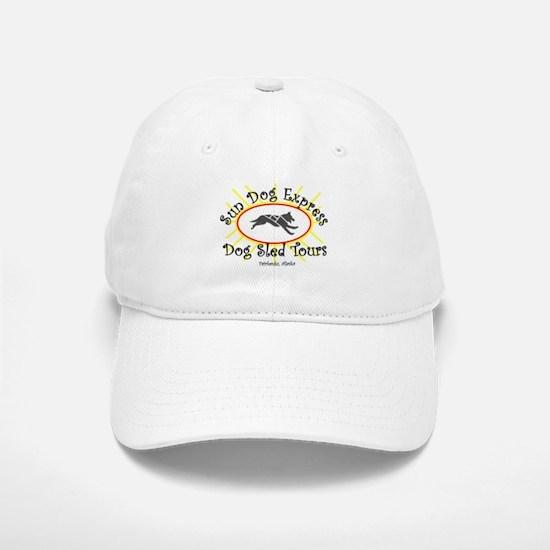 Sun Logo Baseball Baseball Cap
