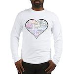 Heart Love in different langu Long Sleeve T-Shirt
