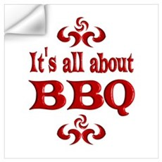 BBQ Wall Art Wall Decal