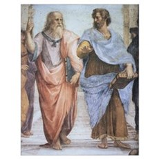 School of Athens (detail - Pl Wall Art Poster