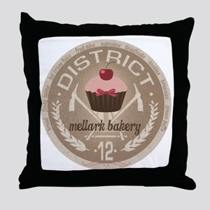 Mellark Bakery Throw Pillow