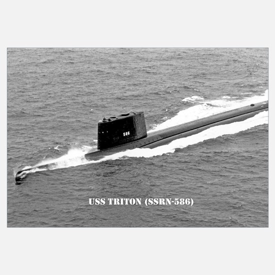 USS TRITON Wall Art