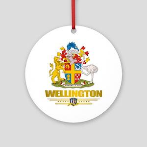 """Wellington NZ"" Ornament (Round)"