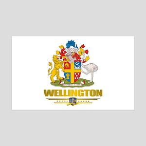 """Wellington NZ"" 38.5 x 24.5 Wall Peel"