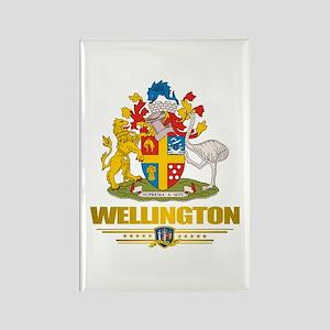 """Wellington NZ"" Rectangle Magnet"