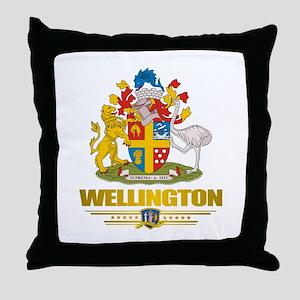 """""""Wellington NZ"""" Throw Pillow"""