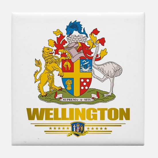 """Wellington NZ"" Tile Coaster"