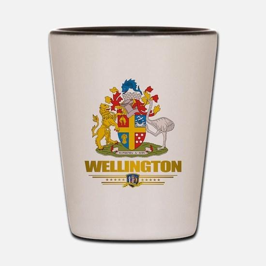 """""""Wellington NZ"""" Shot Glass"""