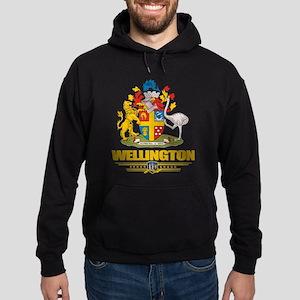 """""""Wellington NZ"""" Hoodie (dark)"""