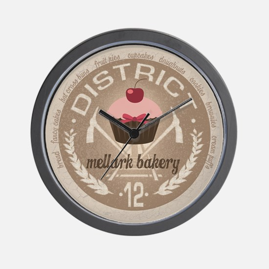 Mellark Bakery Wall Clock