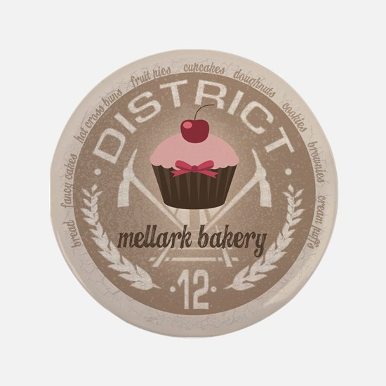 "Mellark Bakery 3.5"" Button"