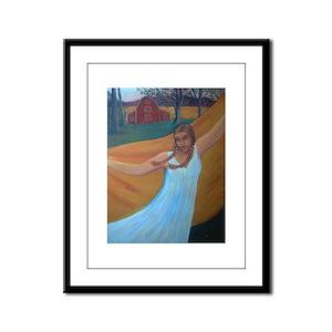 Barn Dance Framed Print