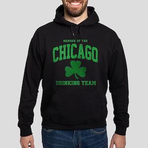 Chicago Drinking Hoodie (dark)