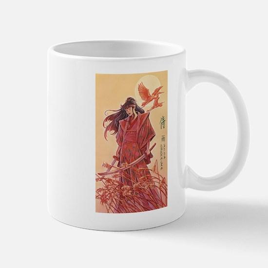 Female Samurai Mug
