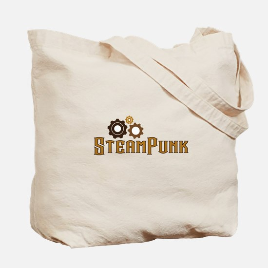I Love Steampunk Tote Bag