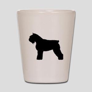 Bouvier des Flandres Dog Shot Glass