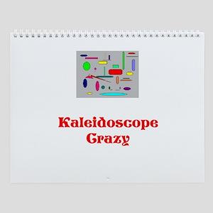 Kaleidoscope Crazy Wall Calendar