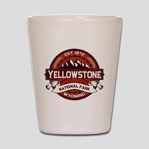 Yellowstone Crimson Shot Glass