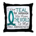 Means World To Me 1 PKD Throw Pillow