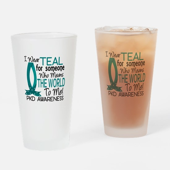 Means World To Me 1 PKD Drinking Glass