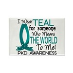 Means World To Me 1 PKD Rectangle Magnet