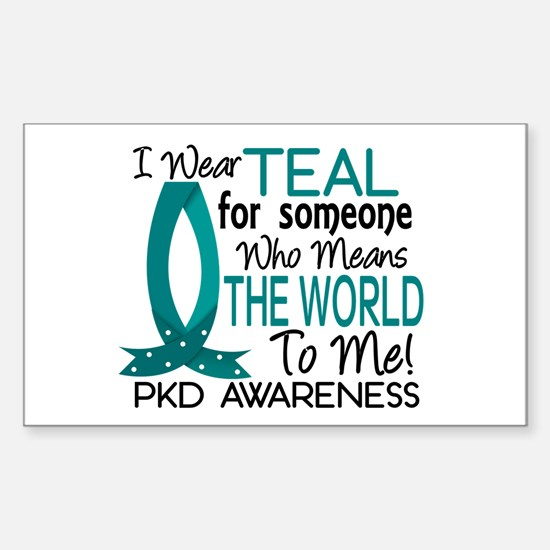 Means World To Me 1 PKD Sticker (Rectangle)