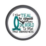 Means World To Me 1 PKD Wall Clock