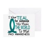 Means World To Me 1 PKD Greeting Cards (Pk of 10)