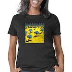 landscape_olivetrees Women's Classic T-Shirt