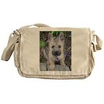 "Cairn Terrier ""Emma"" Messenger Bag"