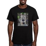 "Cairn Terrier ""Emma"" Men's Fitted T-Shirt (dark)"