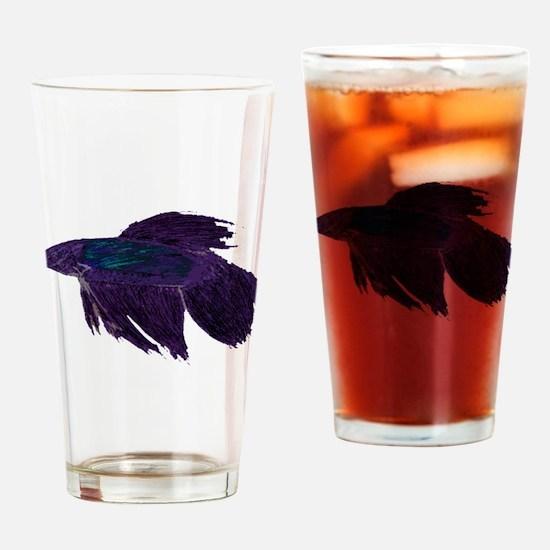 Beautiful Betta Drinking Glass