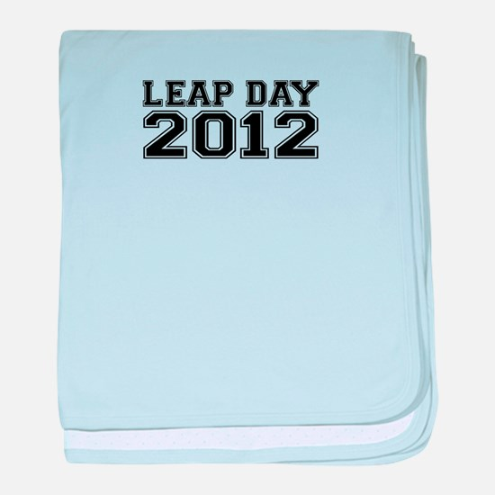 LEAP DAY 2012 baby blanket