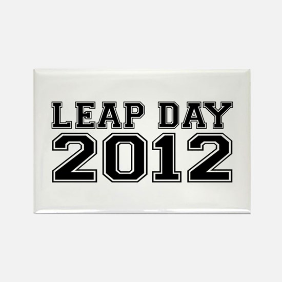 LEAP DAY 2012 Rectangle Magnet
